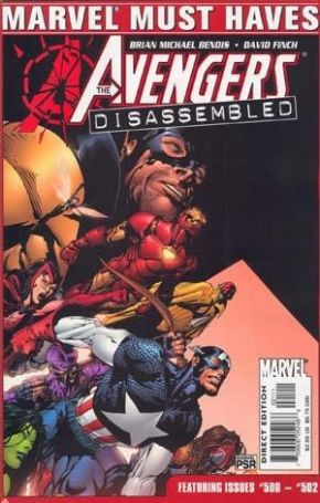 Marvel Must Haves Avengers Disassembled #500 #501 #502 Marvel comic book SALE